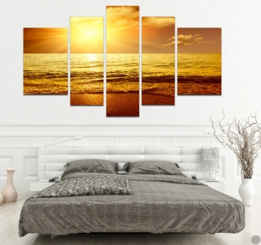 Light Way 1 nature art print for a modern interior