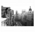 Femme sur les toits
