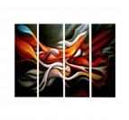 Color Mixing Tableau Abstrait