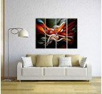 Color Mixing Abstract Painting