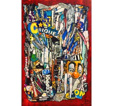 Tableau Peinture Contemporain Urban Style III