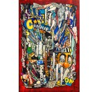 Urban style III contemporary painting canvas