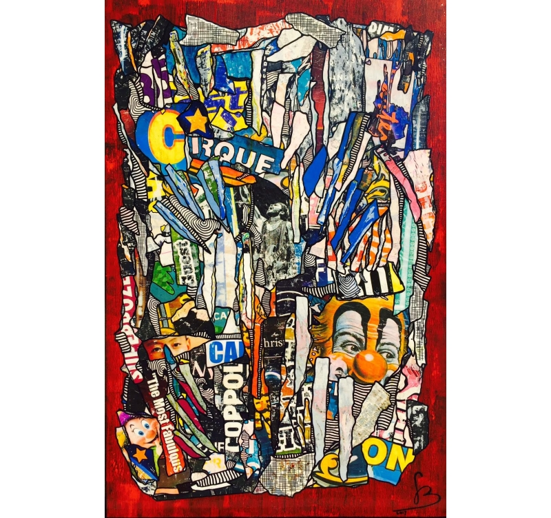 Tableau Peinture Contemporain Urban Style Iii Artwall And Co