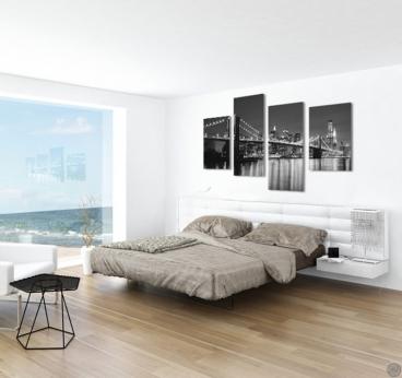 Brooklyn Bridge design wall canvas print for modern interior