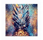 Toile Imprimé Pop art Ananas