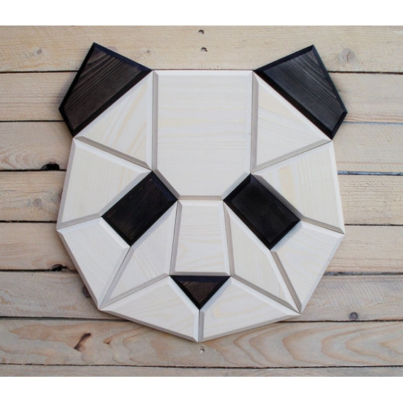 Panda Wood Wall Decoration