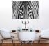 Contemporary Canvas Facing Zebra