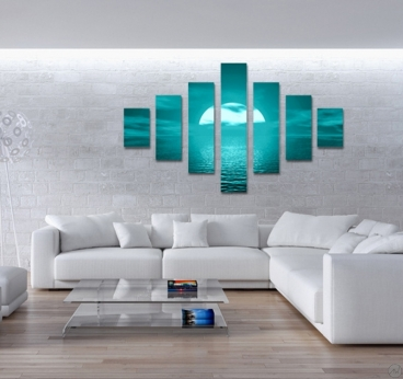 tableau photo le grand bleu. Black Bedroom Furniture Sets. Home Design Ideas
