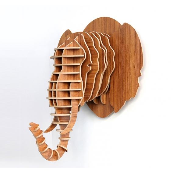 Décoration Trophée Animal Eléphant