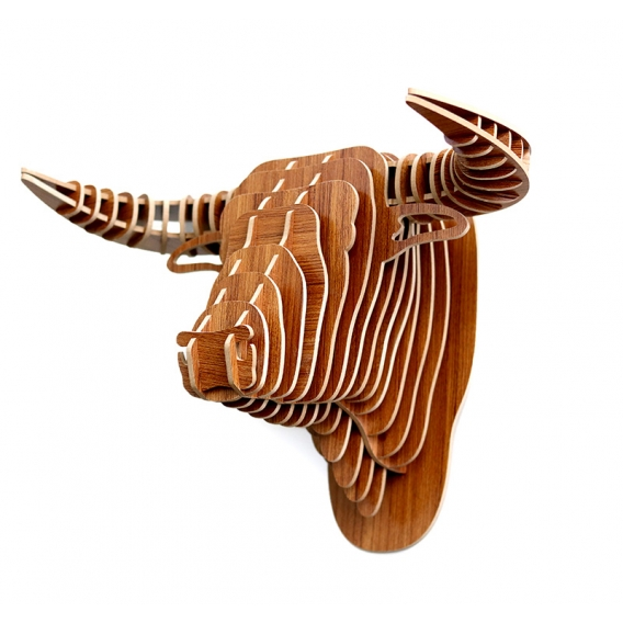 Buffalo Animal Trophy Decoration