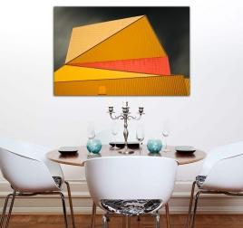 Photo d'Art Moderne Architecture Orange