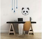 Decoration murale bois Panda