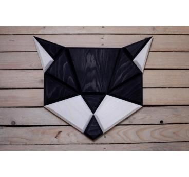 d coration murale bois chat noir artwall and co. Black Bedroom Furniture Sets. Home Design Ideas