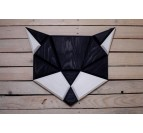 Wood Wall Decoration Black Cat