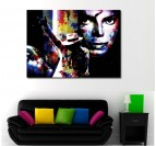 Michael Jackson Bad Decorative Art Print