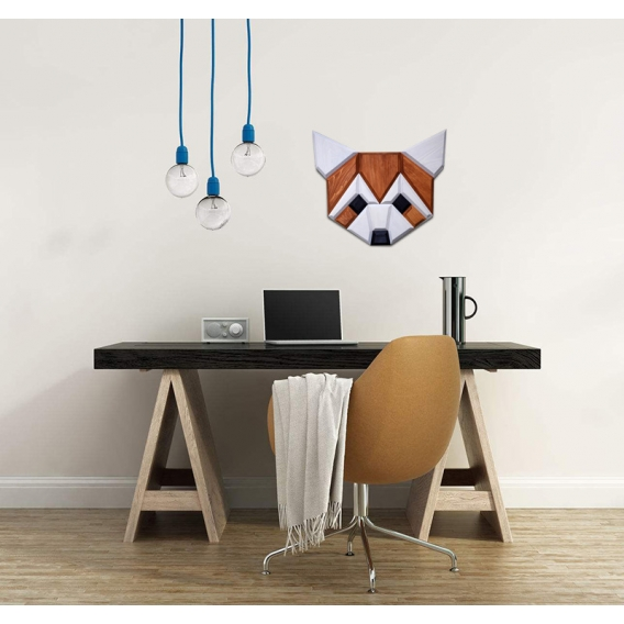 Red Panda Wood Wall Decoration