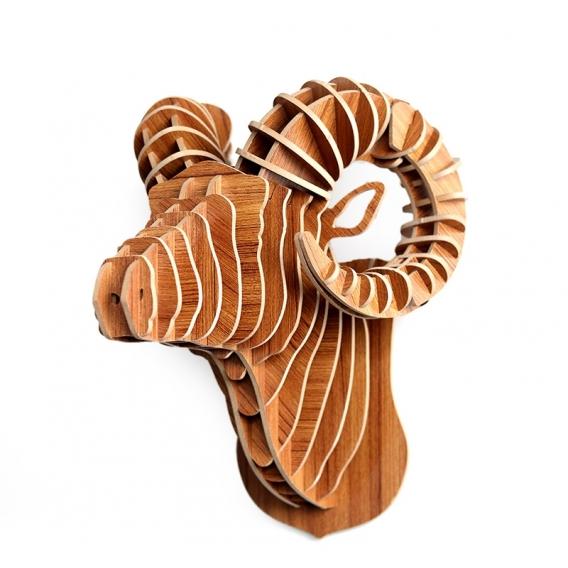 Décoration Trophée Animal Bélier