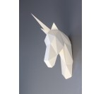 Paper Unicorn Wall Trophy