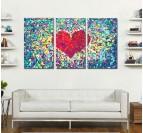 Diamond Heart Tableau Romantique