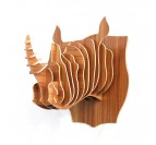 Décoration Trophée Animal Rhinocéros