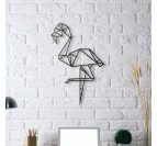 Pink Flamingo Metal Wall Decoration