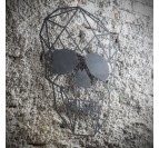 Skull Metal Wall Decoration