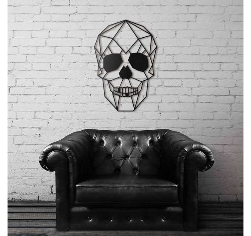 Skull Metal Wall Decoration Artwall And Co