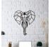 Décoration Murale Métal Éléphant