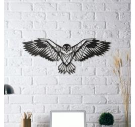 Décoration Mur Métallique Aigle