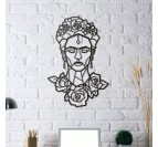 Frida Kahlo Design Metal deco