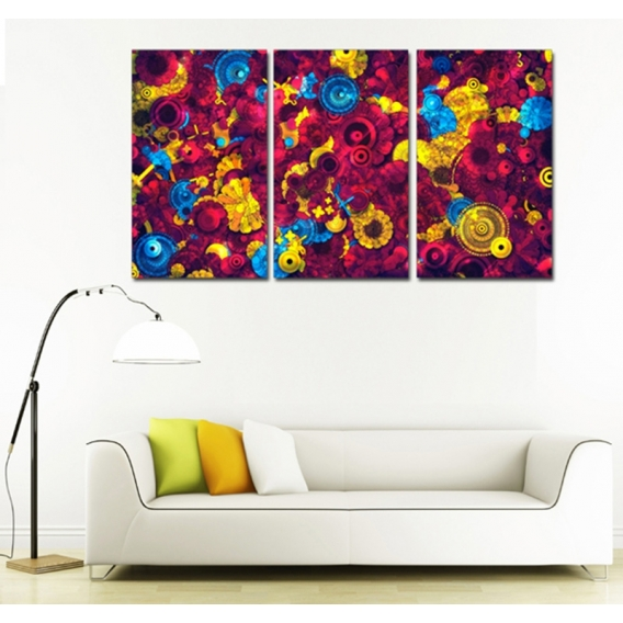 Pop Art Flowers Tableau  Design