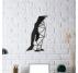 Décoration Métallique Design Pingouin