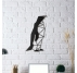 Penguin Design Metal Decoration