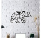 Bear Metal Wall Decoration