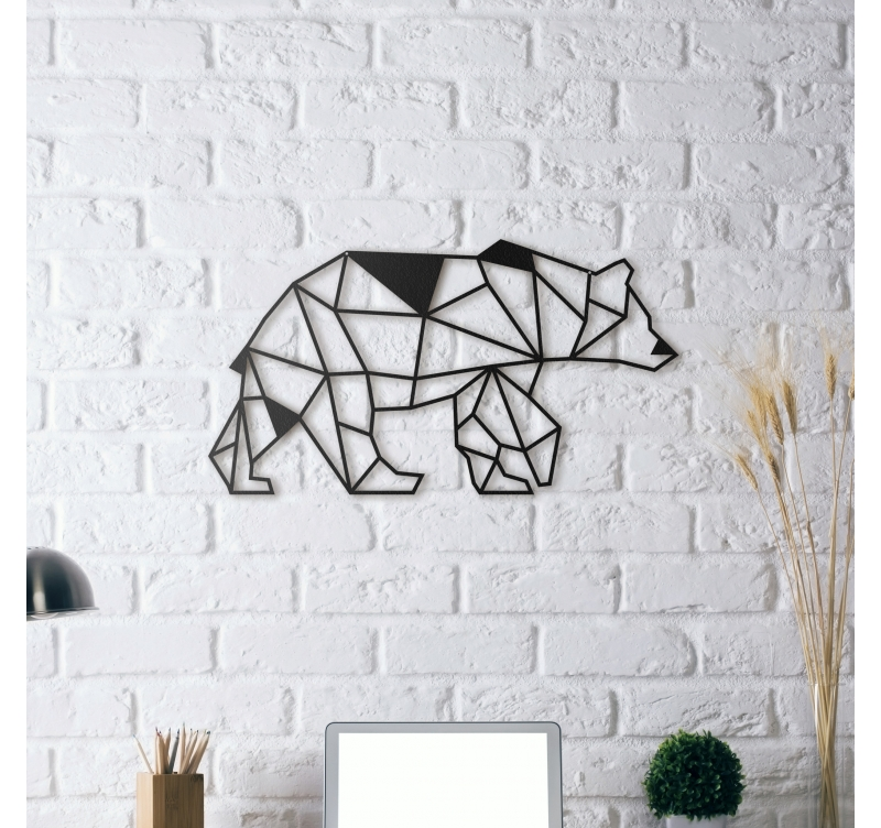 bear metal wall decoration artwall and co