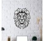 Déco Murale Métal Lion
