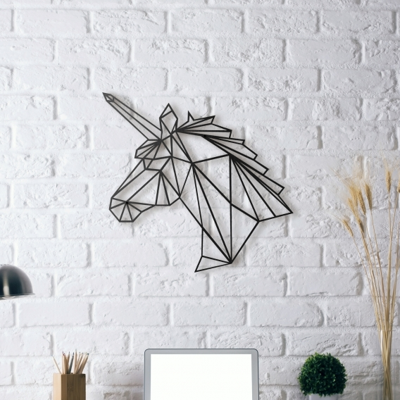 Metal Wall Decoration Unicorn