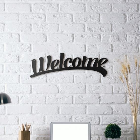 Metal Design Decoration Welcome