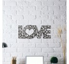 Love Metal Wall Decoration