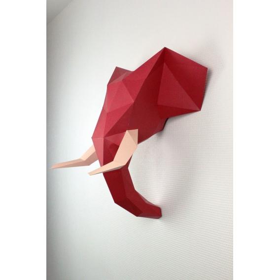 Wall Paper Trophy Elephant