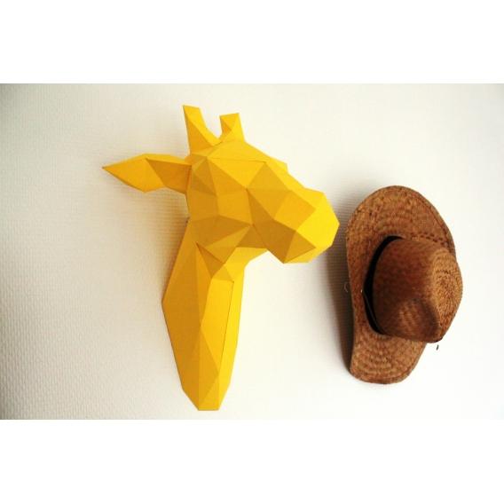 Paper Wall Trophy Giraffe