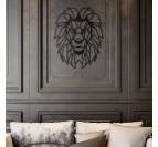Décoration moderne et élégante avec notre trophée métallique lion