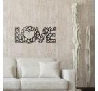 Love Metal Wall Decoration