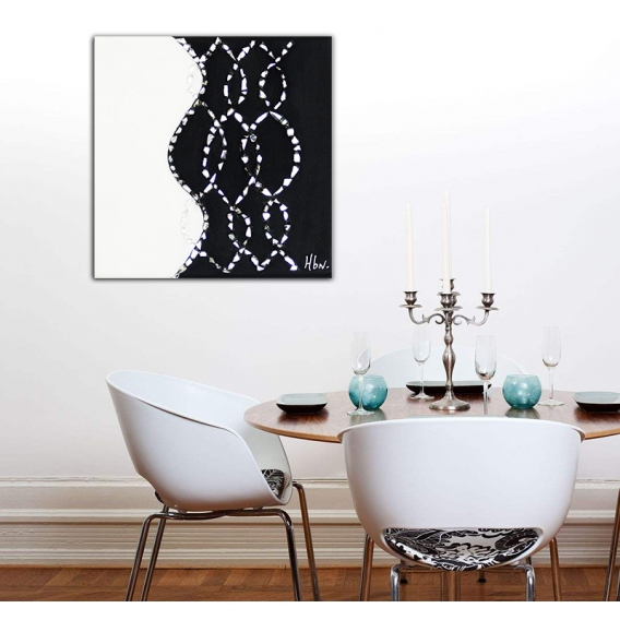 Caducia Painting Mirror Canvas