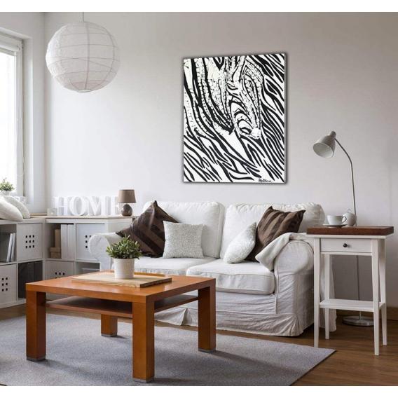 Toile Peinture Abstraite Zebrofilis