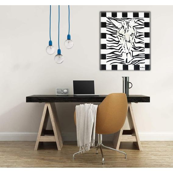 Toile Abstraite Peinture Zebravir