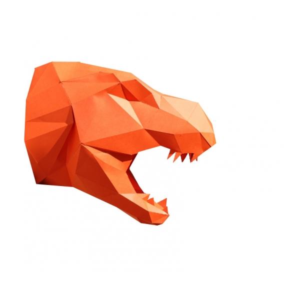 Trophée Papier T-rex
