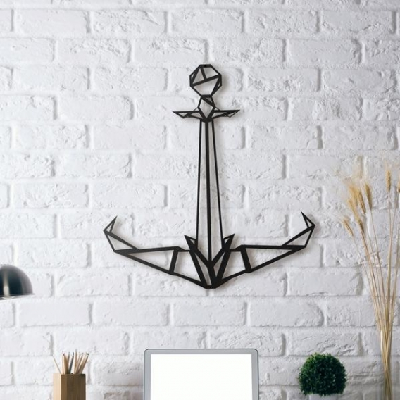 Anchor Metal Wall Decoration