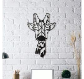 Décoration Girafe Metallique