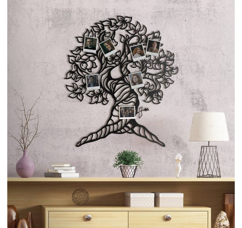 d coration m tal arbre de vie artwall and co. Black Bedroom Furniture Sets. Home Design Ideas